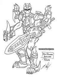 Scott Neely S Scribbles And Sketches Power Rangers Jungle Fury Power Ranger Jungle Fury Coloring Pages