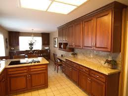 custom kitchen alder wood kitchen cabinet refacing with