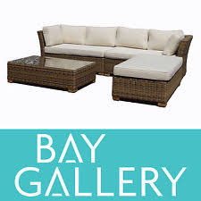 outdoor furniture daybed wicker rattan cane cushions ebay