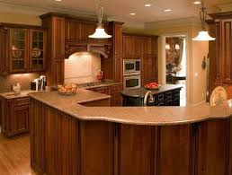 Cherrywood Kitchen Cabinets Rustic Kitchen Cabinets Cherry Wood Rustic Kitchen Cabinets