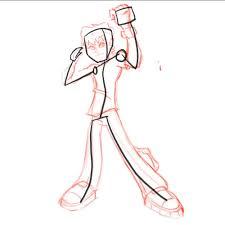 draw ben 10 omniverse easy stick figures