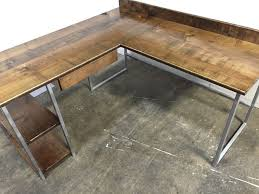 Building A Wooden Desktop by 25 Best Custom Computer Desk Ideas On Pinterest Custom Desk