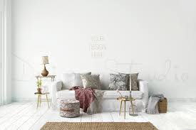 living room photography styled stock photography living room blank wall photography