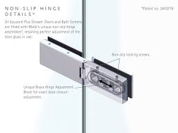 hinges for glass door product