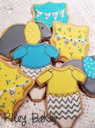 baby shower cookies riley bakes