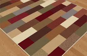 Modern Geometric Rugs by Contemporary Green Blue Brown Red Geometric Area Rug Modern Boxes