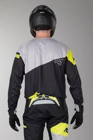 alias motocross gear alias a1 jersey the standard black grey quick dispatch 24mx