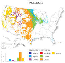 United States Climate Regions Map by Mollisols Map Nrcs Soils
