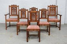 Gothic Dining Room Furniture Gothic Antique Chairs Ebay