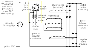 alternators charging system illustrations