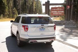 Ford Explorer Body Styles - 2016 ford explorer platinum review autoguide com news