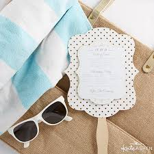 how to make wedding fan programs how to make easy diy wedding welcome bags kate aspen