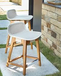 bar stool outdoor palecek vista outdoor counter stool