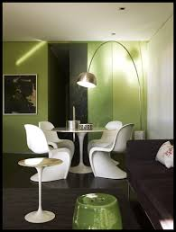 Modern Dining Table Designs 2014 Dining Room Soft Green Small Dining Space Design Featuring White