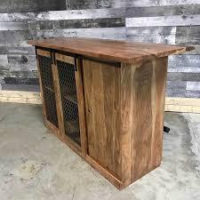 kitchen island montreal barn door acacia industrial home bar kitchen island rustic