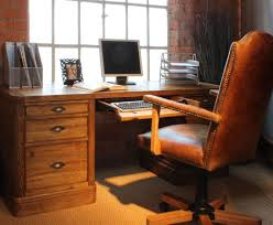 furniture beauteous home office with driftwood finish cabinet