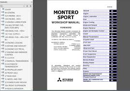 mitsubishi montero sport repair manual pictures to pin on
