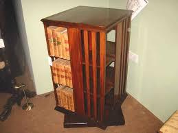 Revolving Bookcases Revolving Bookcase Circular Oak Revolving Bookcase Antique