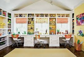 home room desk ideas use a combination of open and closed