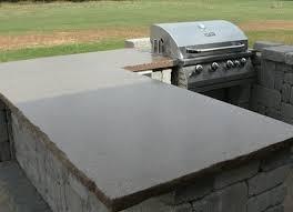 outdoor kitchen countertops ideas outdoor kitchen concrete countertops contemporary patio popular