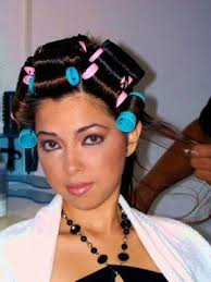 husband forced to sleep in hair rollers 163 best hair rollers images on pinterest rollers in hair pinup