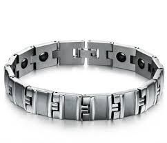 health bracelet titanium images China men jewelry healing magnetic bangle balance health bracelet jpg