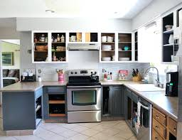corrugated metal kitchen cabinet doors stainless steel canada