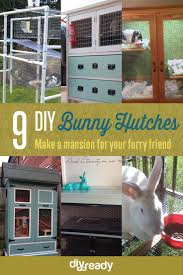 rabbit hutch ideas diy projects craft ideas u0026 how to u0027s for home