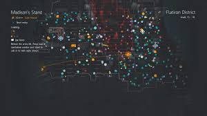 Tom Clancy S The Division Map Size The Division Map Named Bosses The Division Zone Tc The