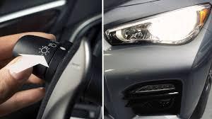 2015 infiniti q50s vs lexus is350 f sport 2014 infiniti q50 hev headlights and exterior lights youtube