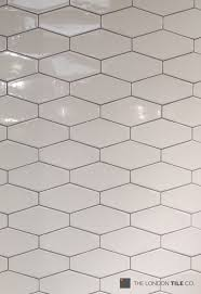 light grey hexagon tile we re loving these bronte irregular hexagon tiles used with a light