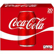 Coca Cola Home Decor Coca Cola Cans 12 Fl Oz 20 Pack Walmart Com