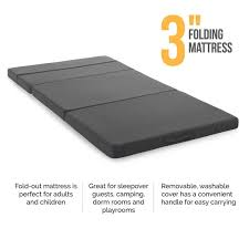 lucid 3 inch folding sofa mattress free shipping today