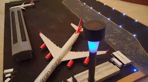 model airport runway lights caribbean model airport review runway lights youtube