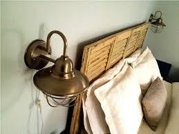 Plug In Wall Lights Plug In Wall Lamp With Cord Cover U2014 John Robinson House Decor