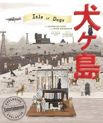 by by isle of dogs check out the gorgeous wes book cover ew