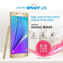 smart unveils unbeatable plans for samsung galaxy note 5 and