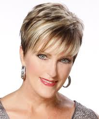 a frame hairstyles pictures front and back the back and sides of this short hairstyle is tapered into the