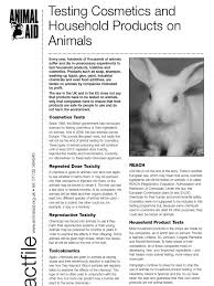 Toxicity Of Household Products by Animal Tests And Household Products Sodium Bicarbonate Animal