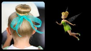 tinkerbell hairstyle tinker bell hair bun disney hairstyles cute girls hairstyles