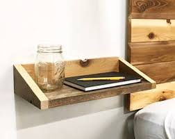 floating nightstand etsy