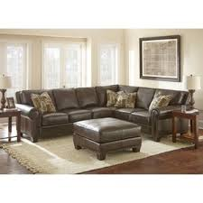 Contemporary Leather Sectional Sofa by Leather Sectional Sofas You U0027ll Love Wayfair