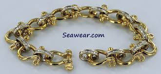 white chain bracelet images Mens gold bracelets jpg
