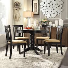 Tall Dining Room Table Homesullivan 5 Piece Black Dining Set 40122d901w 5pc 715w The