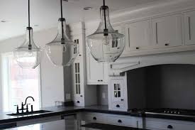 kitchen cylindrical glass kitchen pendant lighting by roost