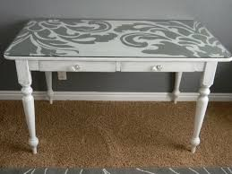 Desk Refinishing Ideas Marvelous Desk Painting Ideas Best Ideas About Repainted Desk On