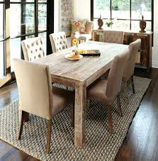 Dining Room Table Canada Wood Modern Rustic Block Pedestal Square Dining Table For 8 Rustic