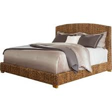 wicker beds you u0027ll love wayfair
