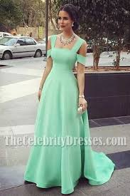 formal gown inspired mint a line formal dress evening formal gown