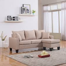 Small Sectional Sofa Chairs Famous Awesome Reversible Chaise Sectional With Stunning